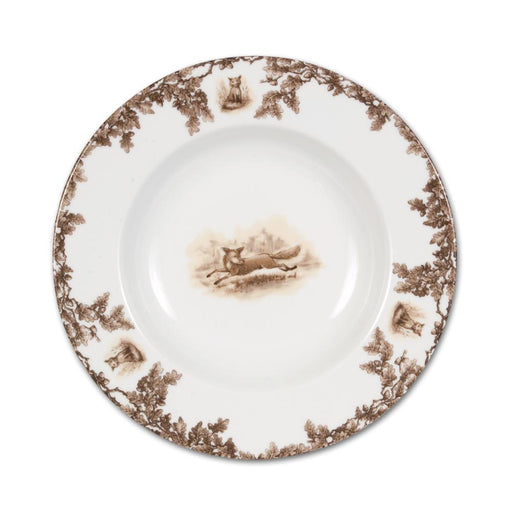 Aiken Hunt Dinnerware Rimmed Soup Bowl - Fox