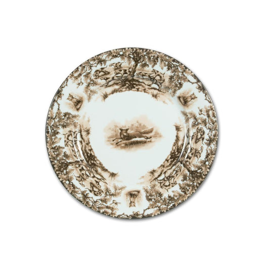 Aiken Hunt Dinnerware Salad Dessert Plate - Fox