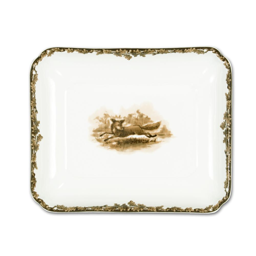 Aiken Hunt Dinnerware Serving Dish - Fox