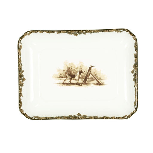 Aiken Hunt Dinnerware Serving Dish - Hound