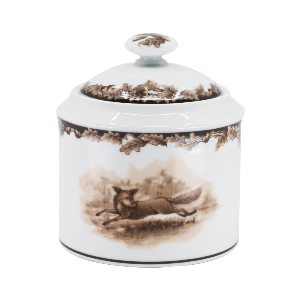 Aiken Hunt Dinnerware Sugar Bowl - Fox