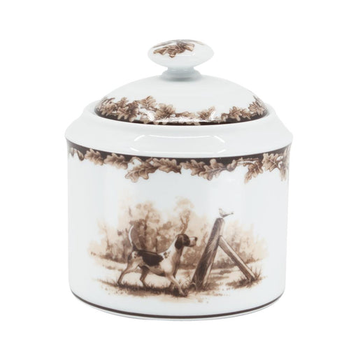 Aiken Hunt Dinnerware Sugar Bowl - Hound