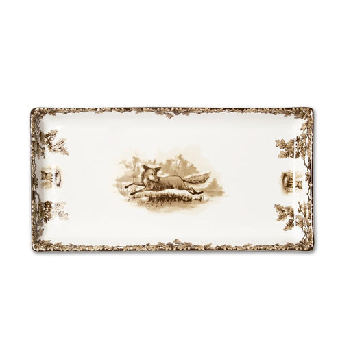 Aiken Hunt Dinnerware Tart Tray - Fox