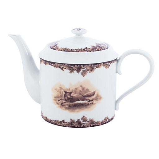 Aiken Hunt Dinnerware Teapot - Fox