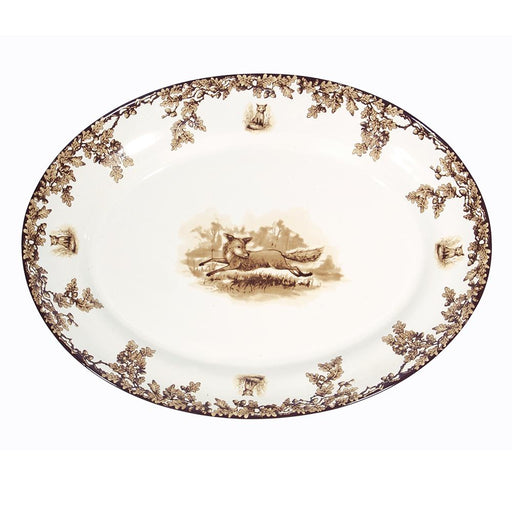 Aiken Hunt Dinnerware Turkey Platter - Fox