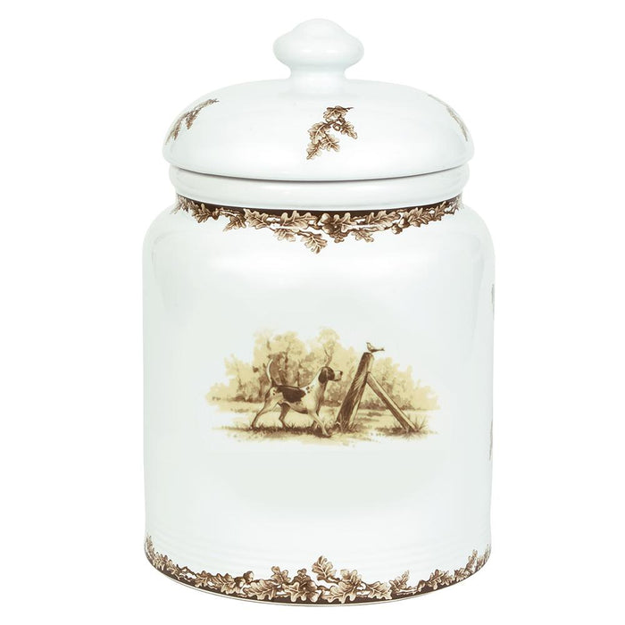 Aiken Hunt Dinnerware Cookie Jar - Hound