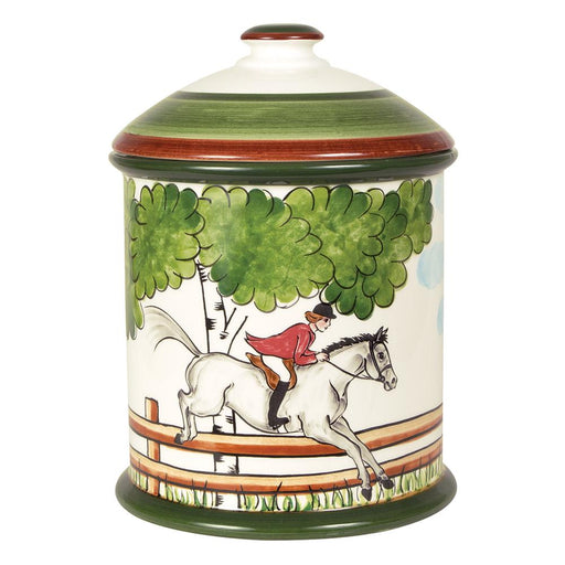 Perfect Day Equestrian Cookie Jar Canister