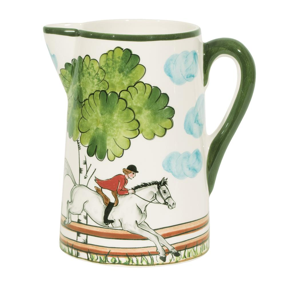 Perfect Day Equestrian Pitcher