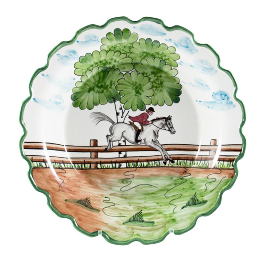 Perfect Day Equestrian Large Serving Bowl