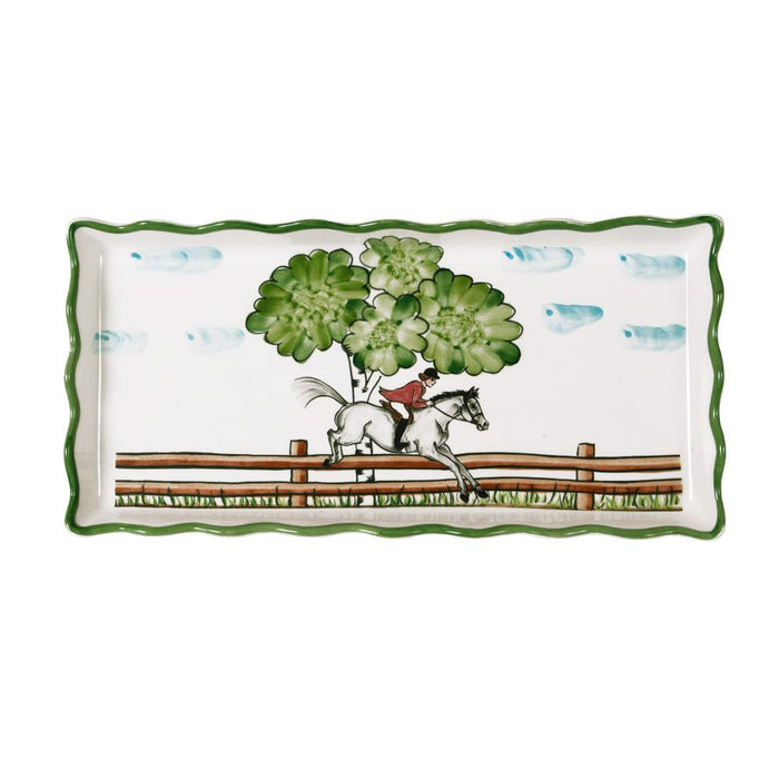 Perfect Day Equestrian Tart Tray