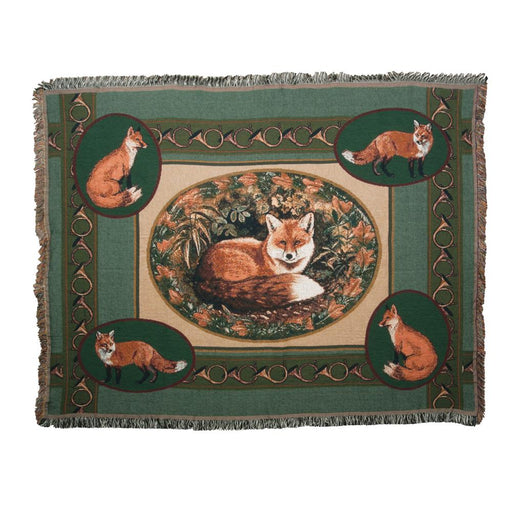 Village Fox Throw