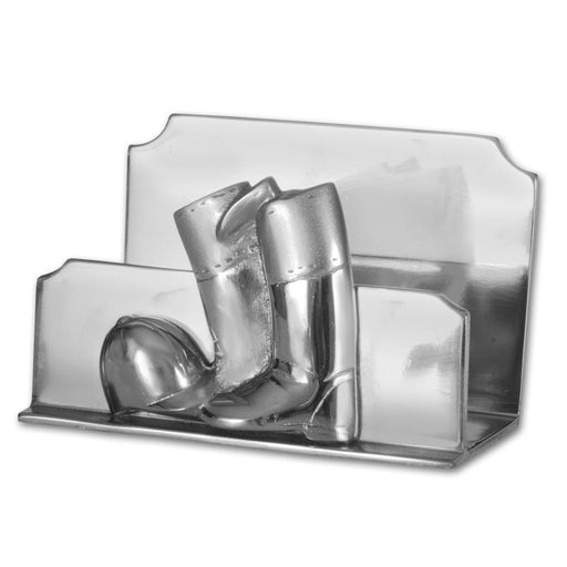 Boots & Helmet Chrome Letter - Napkin Holder