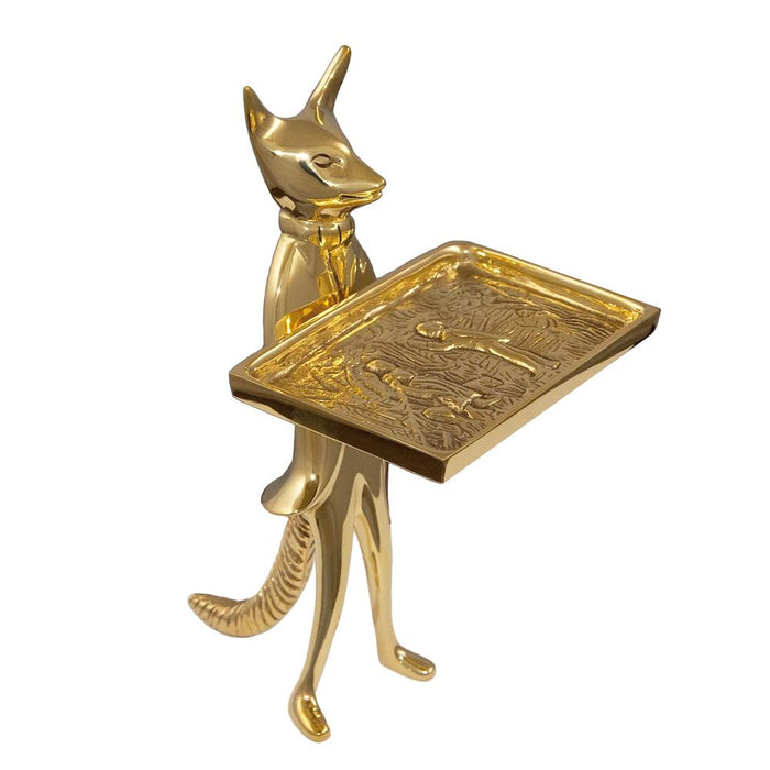 Snooty Fox Brass Card Stand