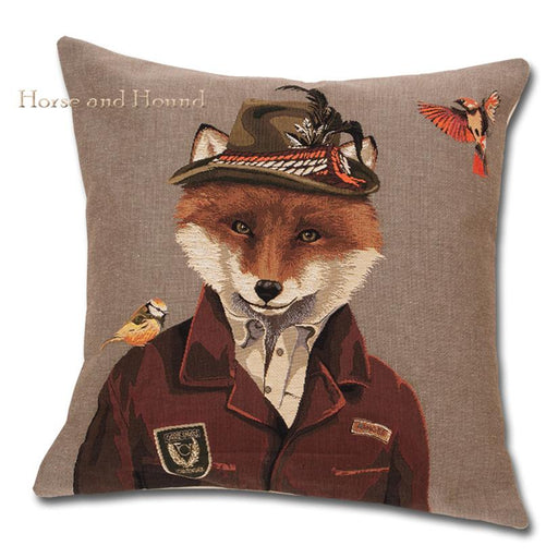 Fox Pillow Tapestry Pillow
