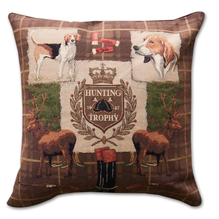 Hunting Trophy Tapestry Pillow