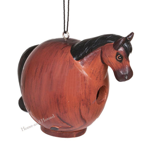 Horse Themed Birdhouse for the Garden