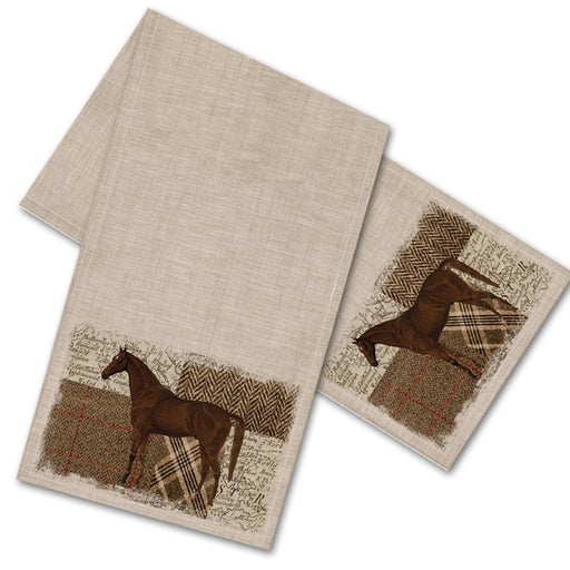 Horse Themed Table Runner