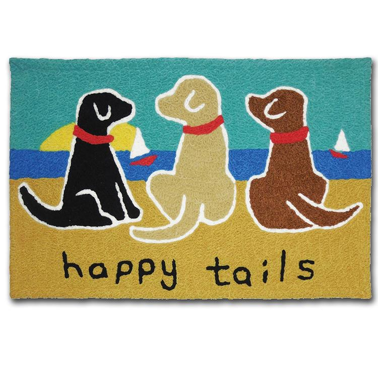 Happy Tails - Dog Washable Accent Rug