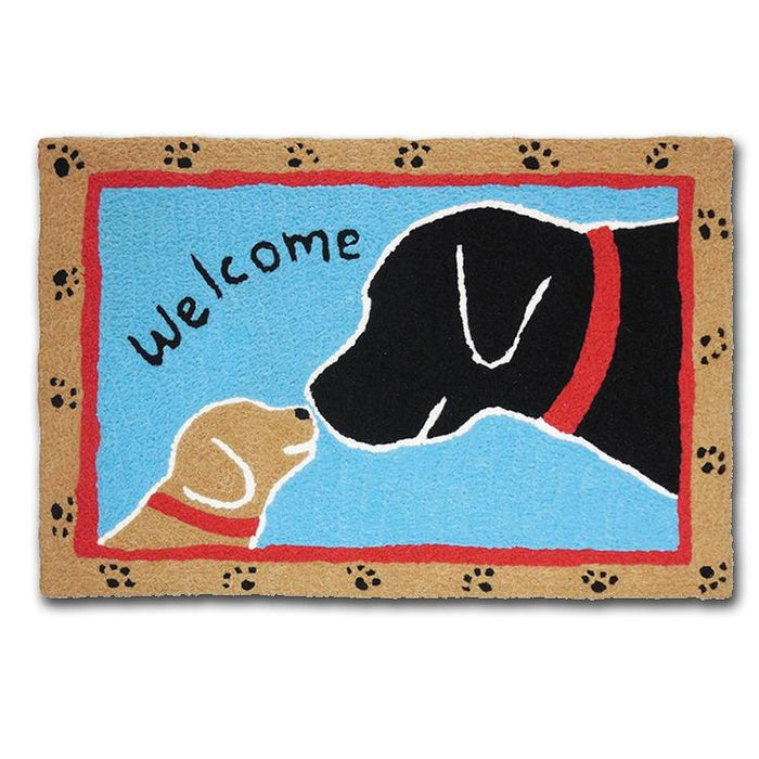 Welcome Dogs Washable Accent Rug
