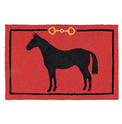 Standing Horse Accent Rug - Washable