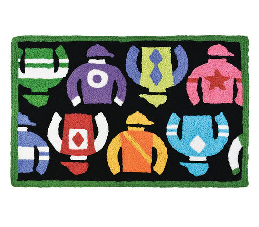 "Jockey Silks Washable Accent Rug - 21"" x 33"""