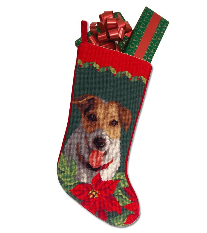 Jack Russell Terrier Christmas Stocking