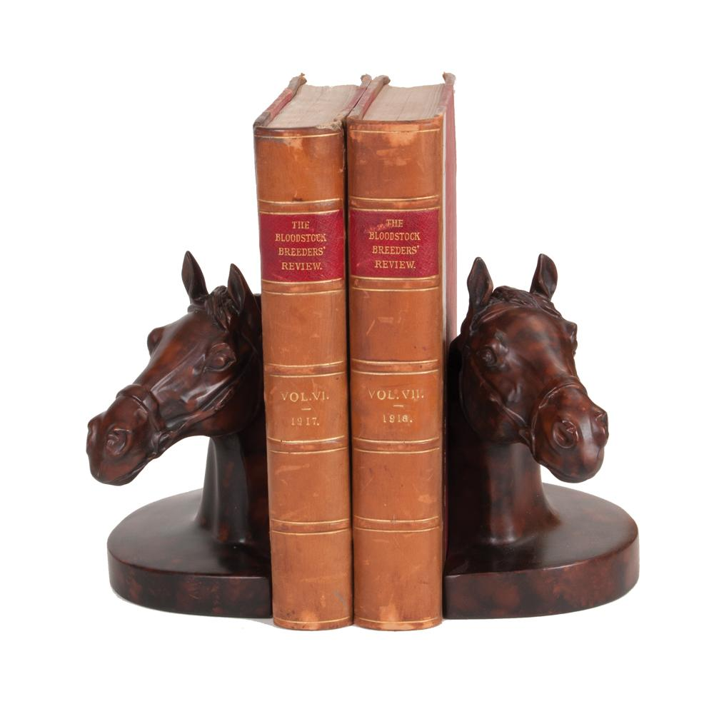 Bridled Horse Bookends