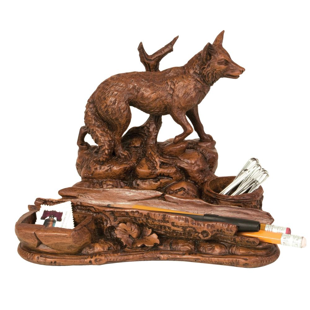 Fox Desk Organizer Tray