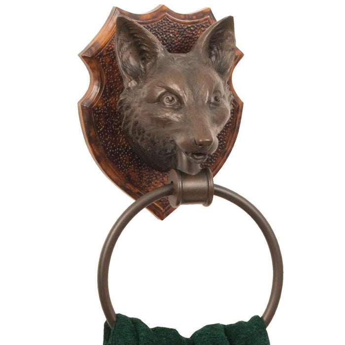 Fox Bathroom Towel Ring