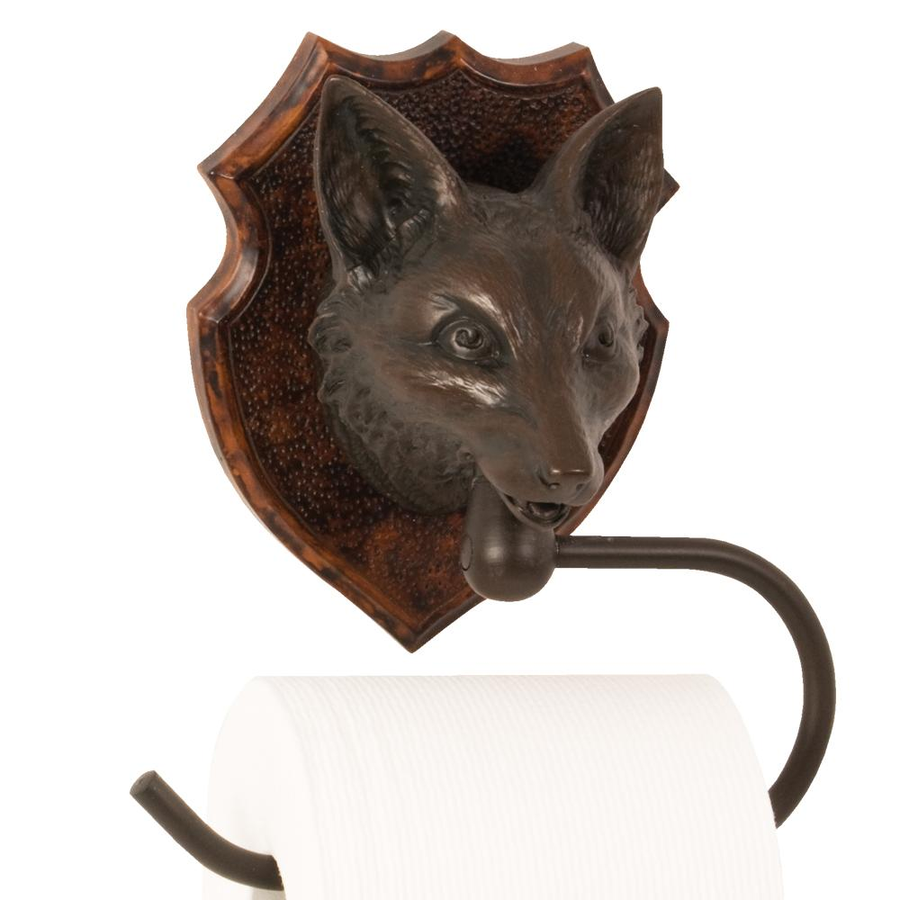 Fox Toilet Paper Holder