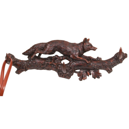 Running Fox Coat Rack