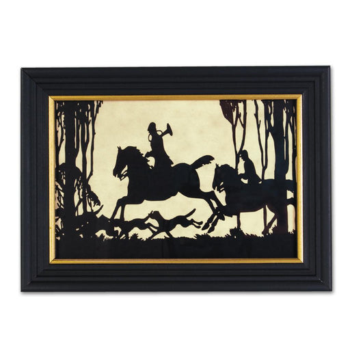 In the Thickett - Equestrian Silhouette Art