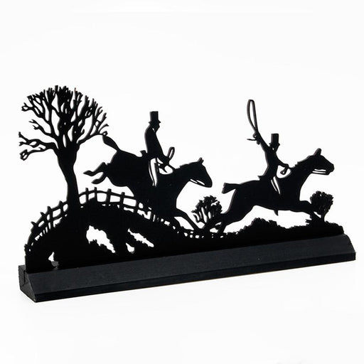 Tally Ho Foxhunting Standup Silhouette