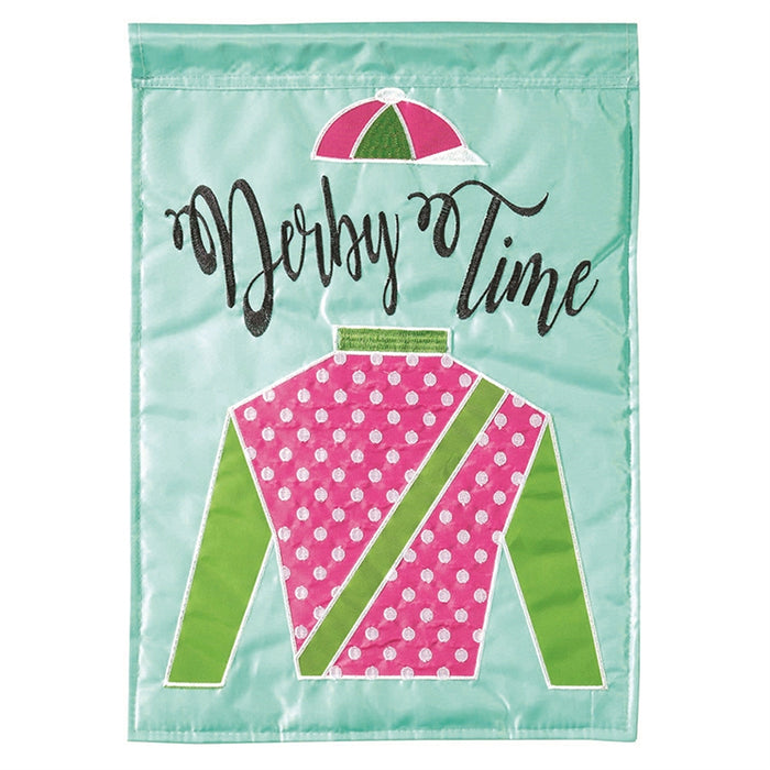 Derby Time Party Flag - Small