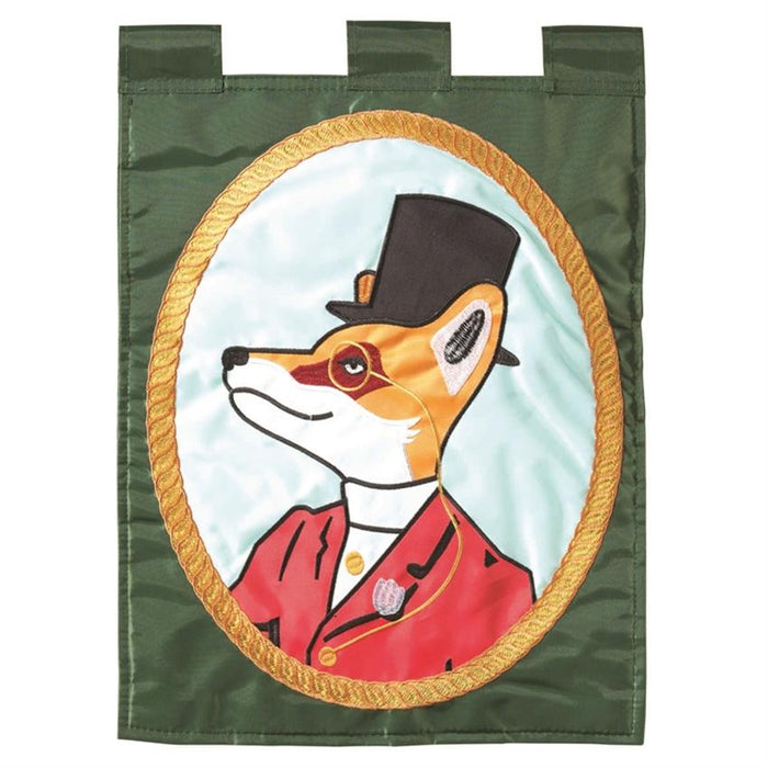 Snooty Fox Garden Flag