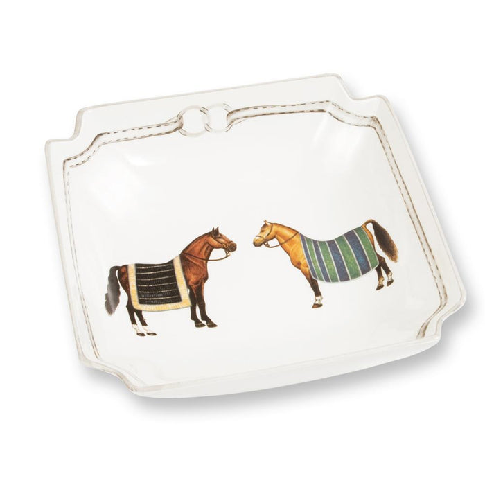 Devon Equestrian Porcelain Serving Bowl