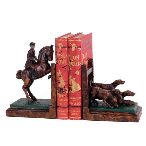 Foxhunting Bookends
