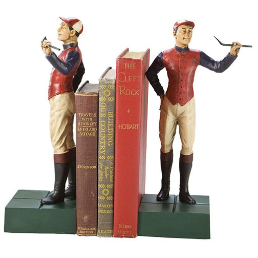 Champion Jockey Bookends