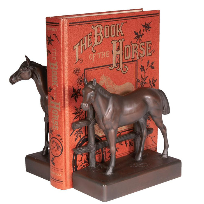 Standing Stallion Bookends