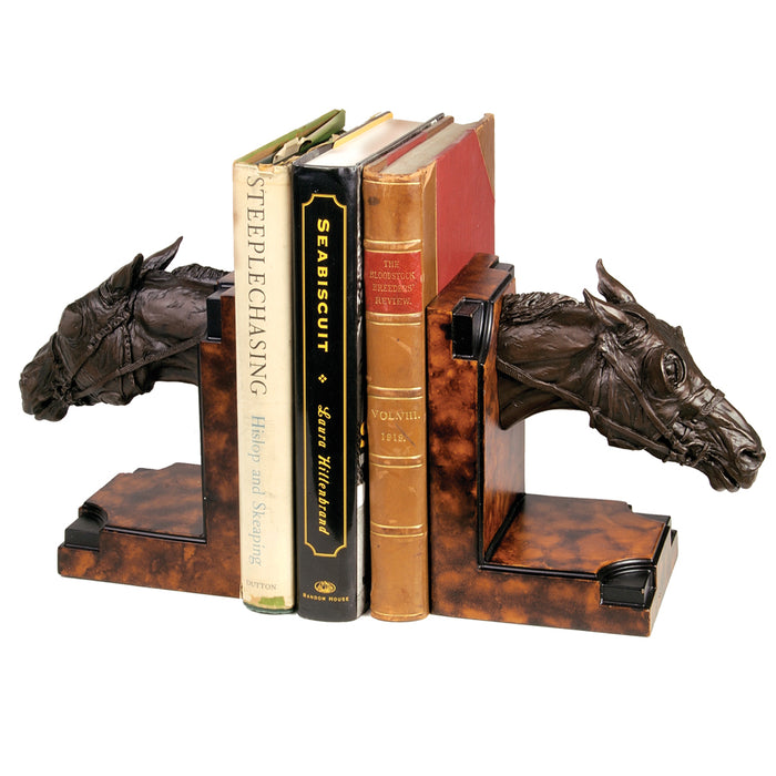 Thoroughbred Bookends