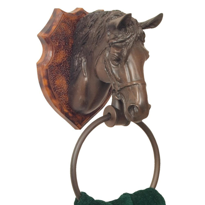 Horse Bathroom Towel Ring