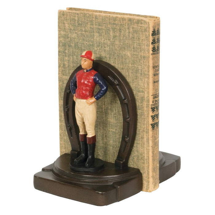 Lucky Jockey Bookends