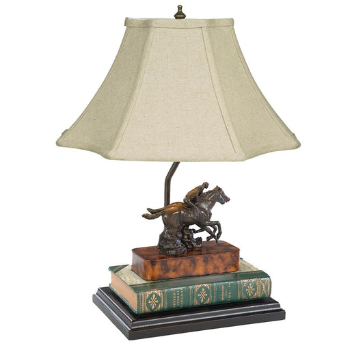 Photo Finish Horse Racing Desk Lamp