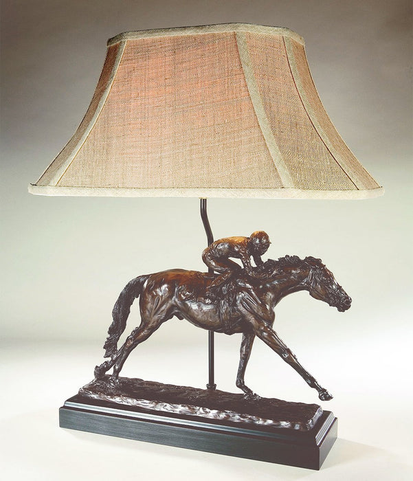 All Out Finish Horse Racing Lamp