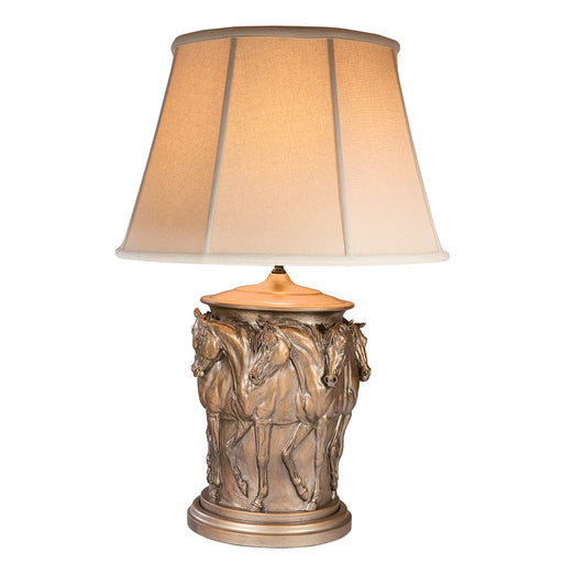 Ring of Horses Table Lamp
