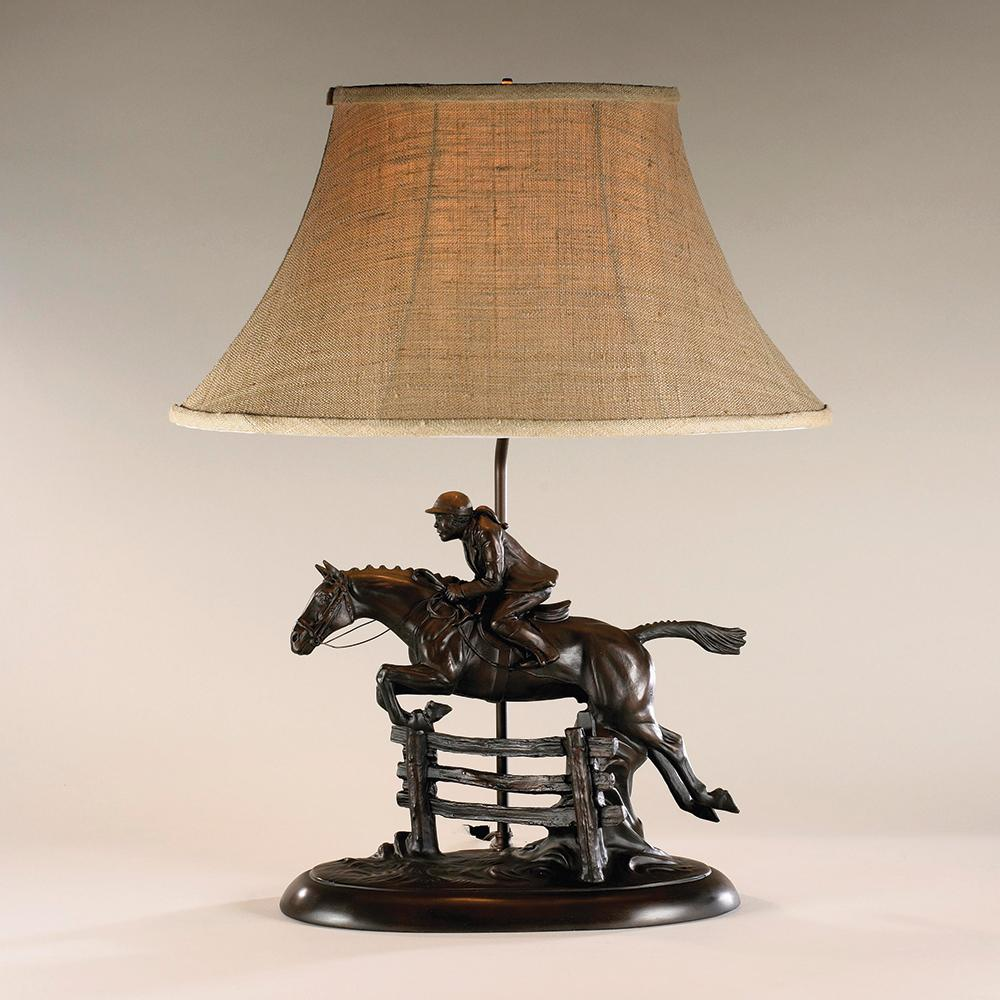 Lady Foxhunter Table Lamp