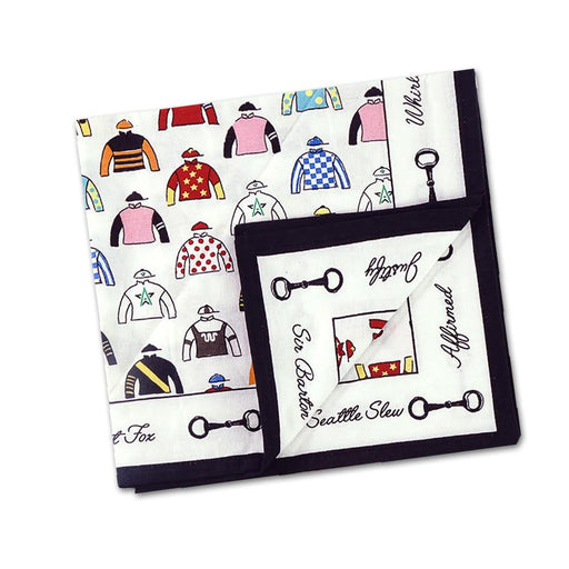 Triple Crown Cotton Napkins - Set of 4