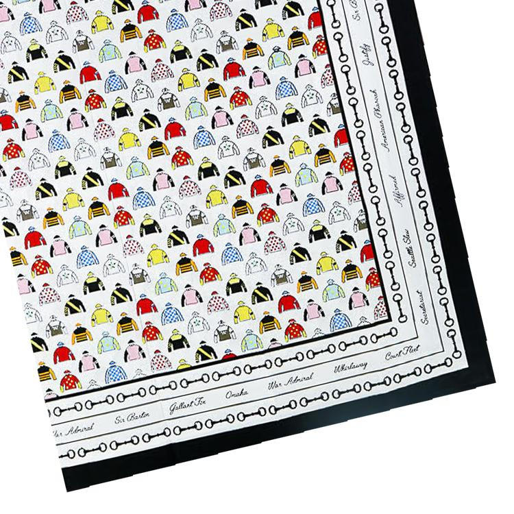 "Triple Crown Cotton Tablecloth - 55"" x 55"""