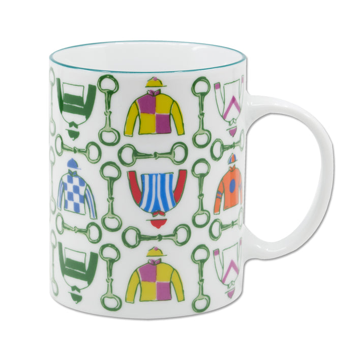 Pick Six Racing Silks Ceramic Mug