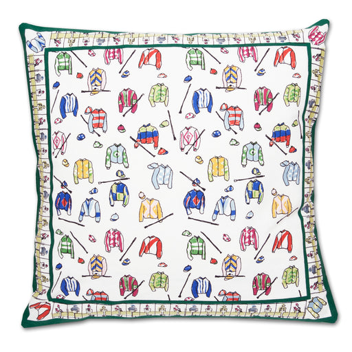Jockey Silks Accent Pillow
